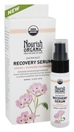 Nourish - Organic Overnight Recovery Serum Argan + Evening Primrose - 0.7 oz.