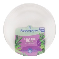 Repurpose - Plant Based Heavy Duty Plates 9 Inch - 20 Count