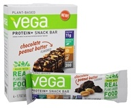 Vega - Protein+ Snack Bars Chocolate Peanut Butter - 4 Bars