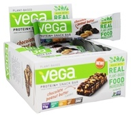 Vega - Protein+ Snack Bars Box Chocolate Peanut Butter - 12 Bars