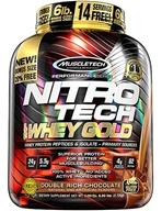 Muscletech Products - Nitro Tech Performance Series 100% Whey Gold Double Rich Chocolate - 6 lbs.
