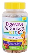 Schiff - Digestive Advantage Kids Probiotic Gummies Natural Fruit - 60 Gummies
