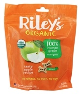 Riley's Organics - Organic Small Bone Dog Treats Apple Recipe - 5 oz.