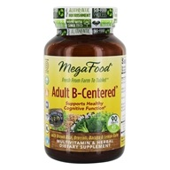 MegaFood - Adult B-Centered - 90 Tablets