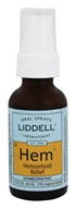 Liddell Laboratories - Hemorrhoid Relief Oral Spray - 1 oz.