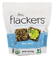 Doctor in the Kitchen - Flackers Flax Seed Crackers Sea Salt - 5 oz.