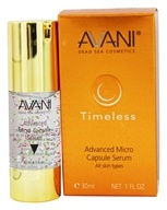 Avani Dead Sea Cosmetics - Timeless Advanced Micro Capsule Serum - 1 oz.