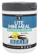 Designer Protein - Lite Mini Meal Low Calorie Meal Replacement Vanilla Creme - 1.12 lb.