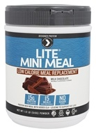 Designer Protein - Lite Mini Meal Low Calorie Meal Replacement Milk Chocolate - 1.12 lb.