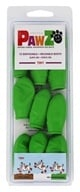 Pawz - Dog Boots Size Tiny Green - 12 Pack