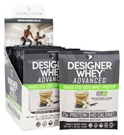 Designer Protein - Organic Pro 30 100% Plant-Based Complete Protein Vanilla - 12 Packet(s)