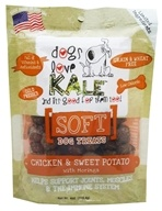 Dogs Love Kale - Soft Dog Treats Chicken and Sweet Potato with Moringa - 4 oz.