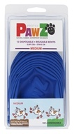Pawz - Dog Boots Size Medium Blue - 12 Pack