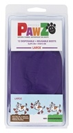 Pawz - Dog Boots Size Large Purple - 12 Pack