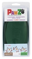Pawz - Dog Boots Size X Large Green - 12 Pack