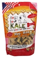 Dogs Love Kale - All Natural Dog Treats Moo Moo Beef and Carrot - 6 oz.