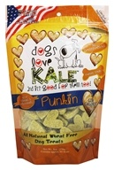 Dogs Love Kale - All Natural Dog Treats Punkin - 6 oz.