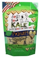 Dogs Love Kale - All Natural Dog Treats Peanutty - 6 oz.