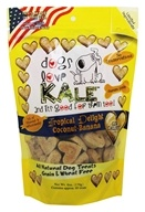 Dogs Love Kale - All Natural Dog Treats Tropical Delight Coconut Banana - 6 oz.