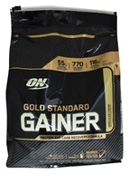 Optimum Nutrition - Gold Standard Gainer Protein and Carb Recovery Formula Vanilla Ice Cream - 10.29 lbs.