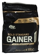Optimum Nutrition - Gold Standard Gainer Protein and Carb Recovery Formula Cookies & Cream - 10.14 lbs.