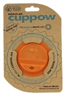 Cuppow - Canning Jar Drinking Lid Regular Mouth Orange
