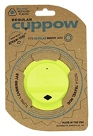 Canning Jar Drinking Lid Regular Mouth Chartreuse