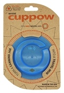 Cuppow - Canning Jar Drinking Lid Wide Mouth Blue