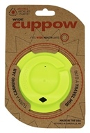 Cuppow - Canning Jar Drinking Lid Wide Mouth Chartreuse