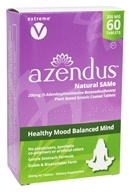 Azendus - Healthy Mood Balanced Mind Natural SAMe 200 mg. - 60 Enteric-Coated Tablets
