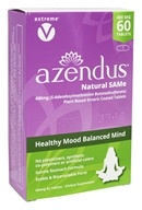 Azendus - Healthy Mood Balanced Mind Natural SAMe 400 mg. - 60 Enteric-Coated Tablets