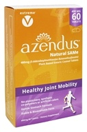 Azendus - Healthy Joint Mobility Natural SAMe 400 mg. - 60 Enteric-Coated Tablets
