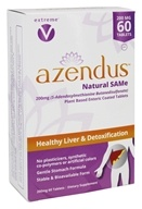 Azendus - Healthy Liver & Detoxification Natural SAMe 200 mg. - 60 Enteric-Coated Tablets