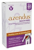 Azendus - Healthy Liver & Detoxification Natural SAMe 400 mg. - 60 Enteric-Coated Tablets