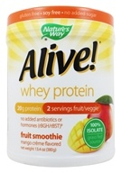 Nature's Way - Alive! Whey Protein Fruit Smoothie Mango Creme - 13.4 oz.