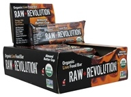 Raw Revolution - Organic Live Food Bars Box Almond Butter Cup - 12 Bars