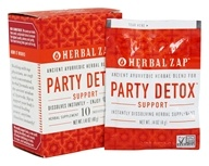 Herbal Zap - Ayurvedic Party Detox Support Drink Mix - 10 Packet(s)