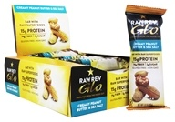 Raw Revolution - Raw Rev Glo Bars Box Creamy Peanut Butter & Sea Salt - 12 Bars