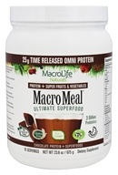 MacroLife Naturals - Macro Meal Ultimate Superfood Omni Protein Chocolate - 23.8 oz.