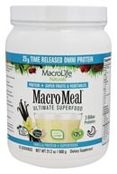 MacroLife Naturals - Macro Meal Ultimate Superfood Omni Protein Vanilla - 21.2 oz.