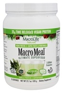 MacroLife Naturals - Macro Meal Ultimate Superfood Vegan Protein Vanilla - 21.7 oz.