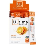 Ultima Health Products - Ultima Replenisher Electrolyte Powder Orange - 20 Packet(s)