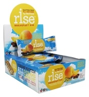 Rise Foods - Rise Breakfast Bars Box Crunchy Perfect Pumpkin - 12 Bars Formerly Boomi Bar