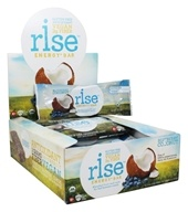 Rise Foods - Rise Energy Bars Box Blueberry Coconut - 12 Bars Formerly PranaBar