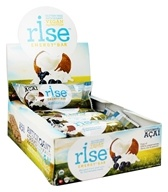 Rise Foods - Rise Energy Bars Box Coconut Acai - 12 Bars Formerly PranaBar