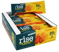 Rise Foods - Rise Protein Bars Box Almonds Honey - 12 Bars Formerly Boomi Bar