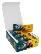 Rise Foods - Rise Protein Bars Box Crunchy Carob Chip - 12 Bars Formerly Boomi Bar