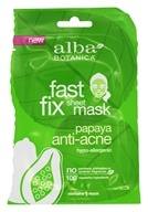 Alba Botanica - Fast Fix Facial Sheet Mask Anti-Acne Papaya - 1 Count