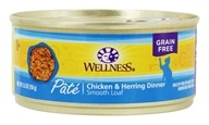 Wellness Pet - Complete Health Cat Food Chicken and Herring Formula - 5.5 oz.