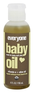 EO Products - Organic Baby Oil - 4 oz.